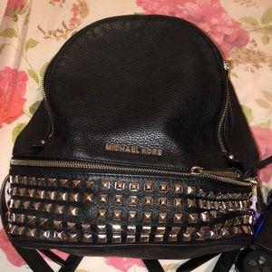 Michael Kors leather book bag